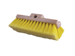 "10"" PREMIUM BI-LEVEL SOFT TRUCK BRUSH - YELLOW BRISTLE (12/case) - V6645"
